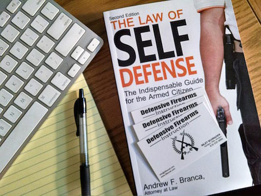 CALIFORNIA SELF DEFENSE LAWS CLASS